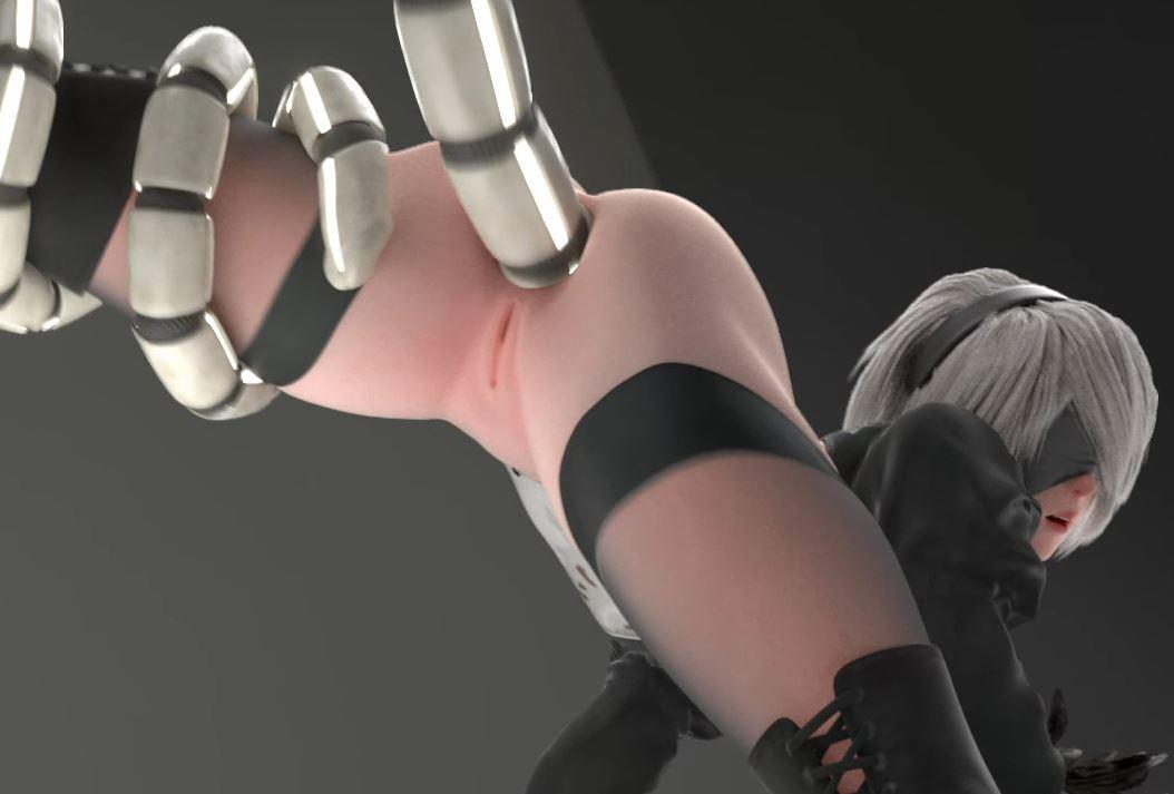 robot tentacle 2b anal