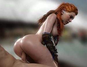 aloy wet pussy horizon zero dawn rule34 by pewposterous