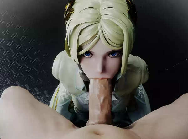YorHa Commander blowjob