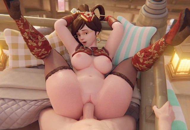 Overwatch 3D Hentai Animation - Mei Ling gets her legs up and pussy fucked