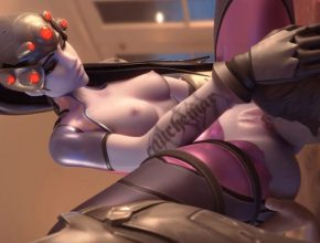 Overwatch 3D Hentai - Tasting her pussy
