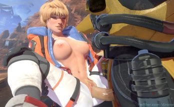 apex legends hentai - wattson shows off her tits and gets her pussy destroyed by a huge cock