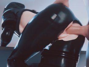 Dokkaebi gets her wet pussy creampied - Rainbow Six Siege 3D porn