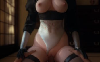 android 2b 3D hentai bouncing tits