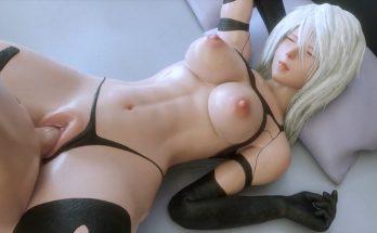 YorHa A2 3D Hentai