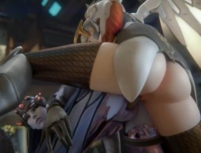 Mercy and Widowmaker sharing it - Overwatch rule34