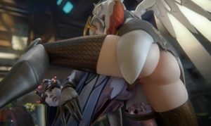 Mercy and widowmaker 3d hentai
