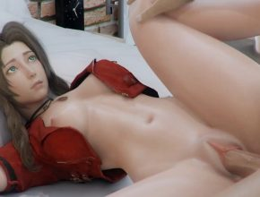 Aerith Gainsborough juicy pussy fucked – Final Fantasy 3D hentai