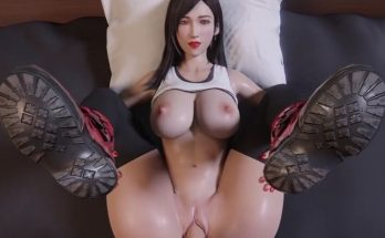 Final Fantasy Remake Tifa Hentai in 3D