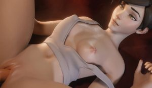 Overwatch sfm porn 3D Tracer wet pussy sex