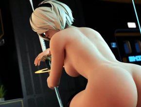 YorHa 2B thicc ass - Nier Automata 3D Hentai