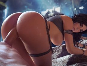 Tomb Raider - Lara rule34 3D