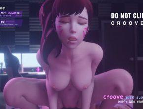 Cute Dva POV Orgasm - Overwatch 3D Hentai