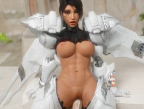 Overwatch rule34 3D hentai - Pharah POV