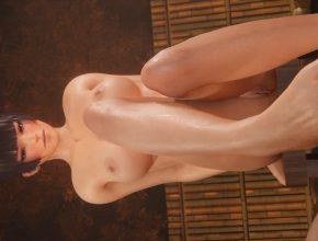 Dead or Alive 3D Hentai -Nyotengu Feet