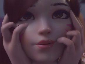 Overwatch 3D hentai - Cute Dva gets a creampie